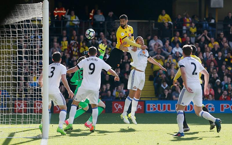 Miguel Britos scores for Watford
