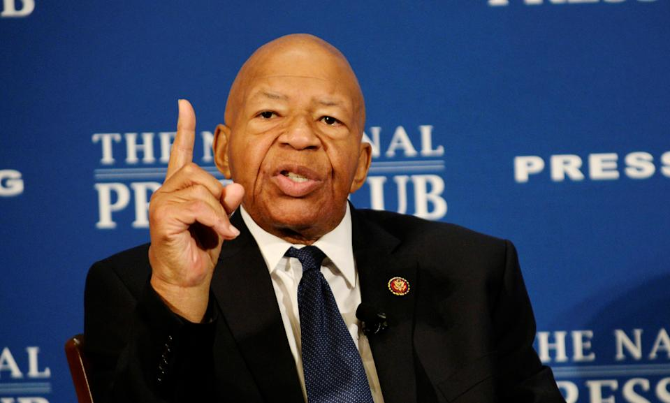House Oversight and Reform Committee Chairman Elijah Cummings, D-Md., addresses a National Press Club luncheon in Washington. (Photo: Mary F. Calvert/Reuters)