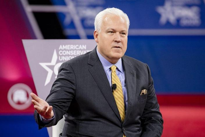 Matt Schlapp (L), Chairman of the American Conservative Union (Photo by Samuel Corum/Getty Images)