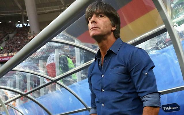 Jogi Loew and Germany are looking to become the first repeat World Cup winners since the early 1960s. (Getty)