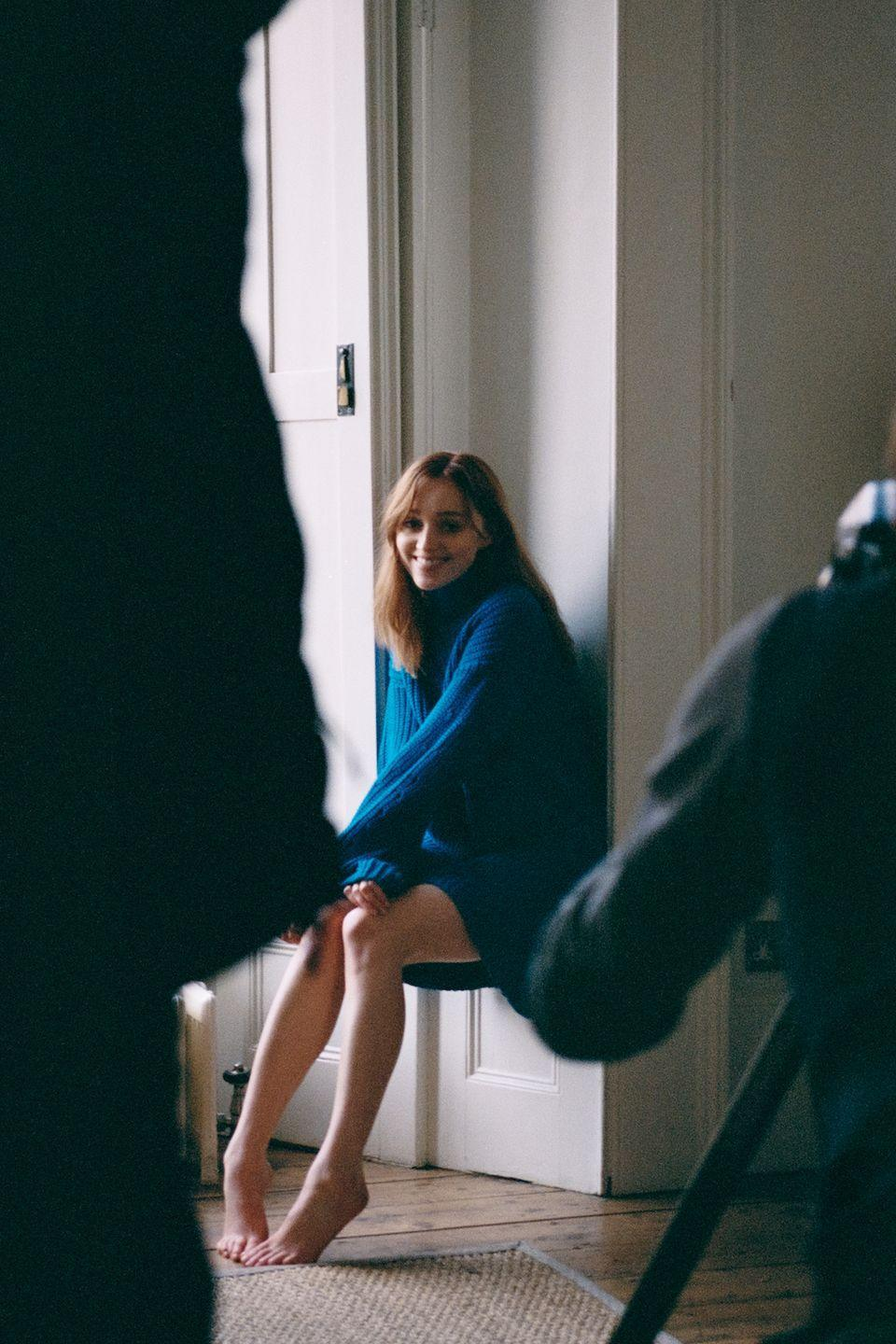 <p>The 25-year-old can be seen posing in a London townhouse for 'day in the life of' the campaign.</p><p>'As I was designing this latest collection, I was thinking a lot about the British sensibility and that effortless approach to British style, which I am so often inspired by, 'Han Chong explained. 'I felt we needed to work with someone to bring this to life rather than present the collection in a traditional show format, and having captured the hearts and imaginations of so many people over the last few months, I knew Phoebe would be the perfect woman.'</p>