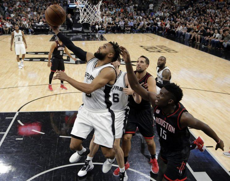 Patty Mills is in line to earn more than the $3.5 million he made this season. (AP)