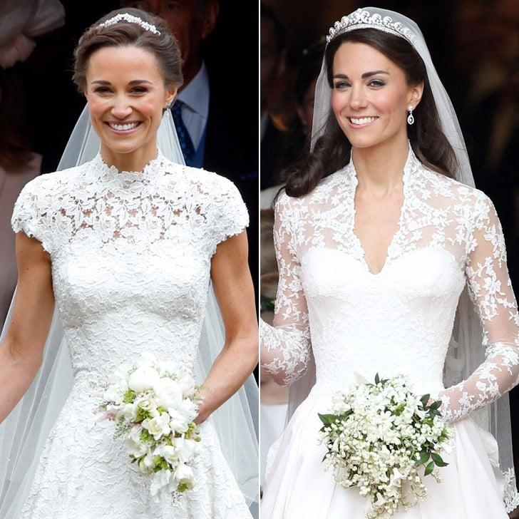 A Very Scientific Look at Pippa and Kate Middleton's Weddings, by the Numbers
