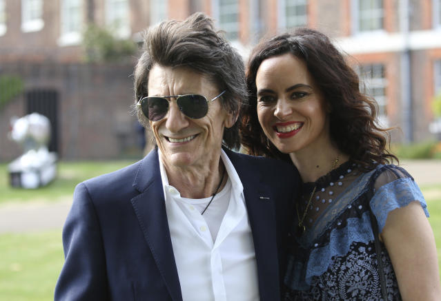Ronnie Wood is now married to Sally Humphreys Wood, with whom he shares two daughters. (KGC-22/STAR MAX/IPx)