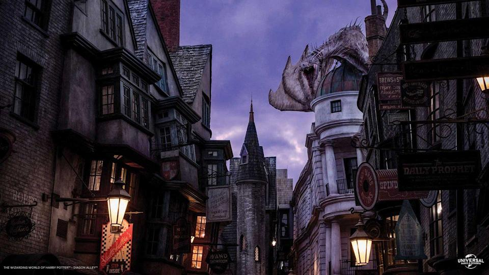 Photo credit: Wizarding World of Harry Potter