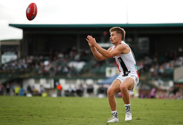 The AFL game between St Kilda Saints and Port Adelaide Power scheduled for May 31 in China has been moved to Melbourne.