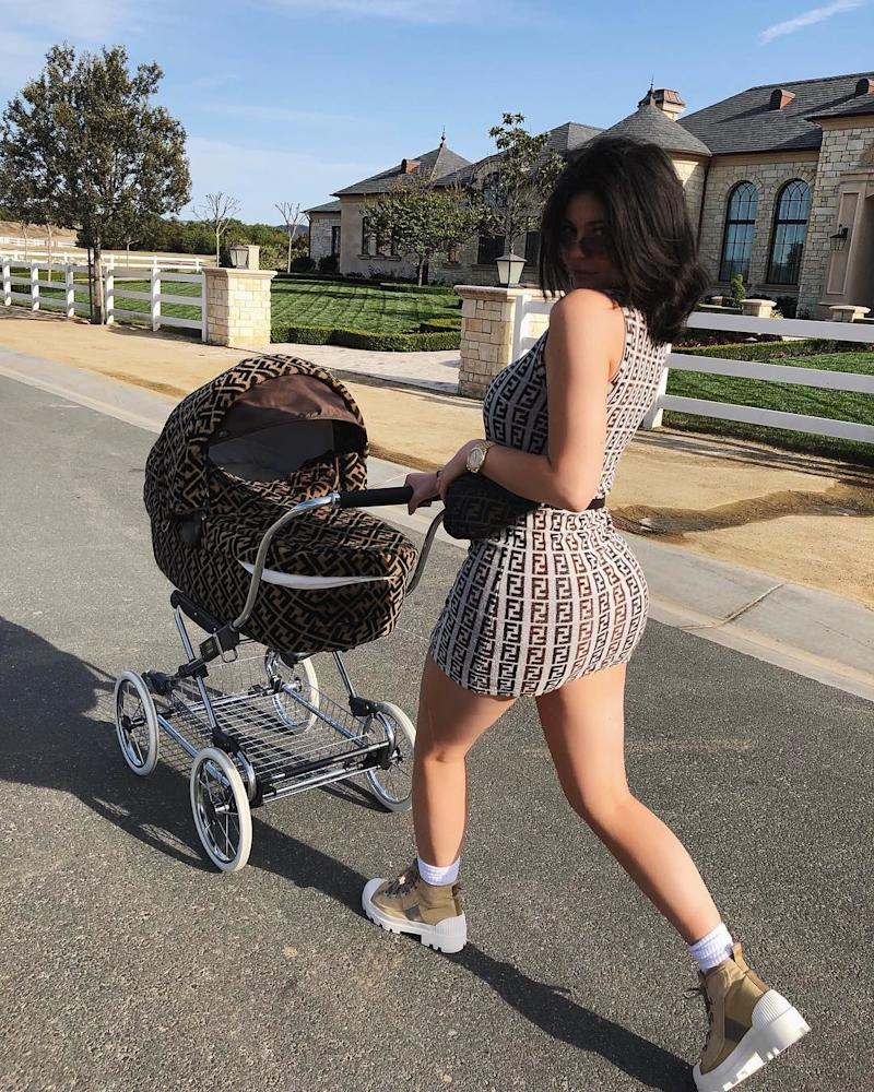 Having gone even further than her sister Khloé into months and months of quite unusual silence and hiding, at the start of February, Kylie Jenner reemerged reborn as a mommy blogger, finally confirming the rumors that she and her boyfriend Travis Scott were set to have a baby with the announcement of their daughter, Stormi Webster.