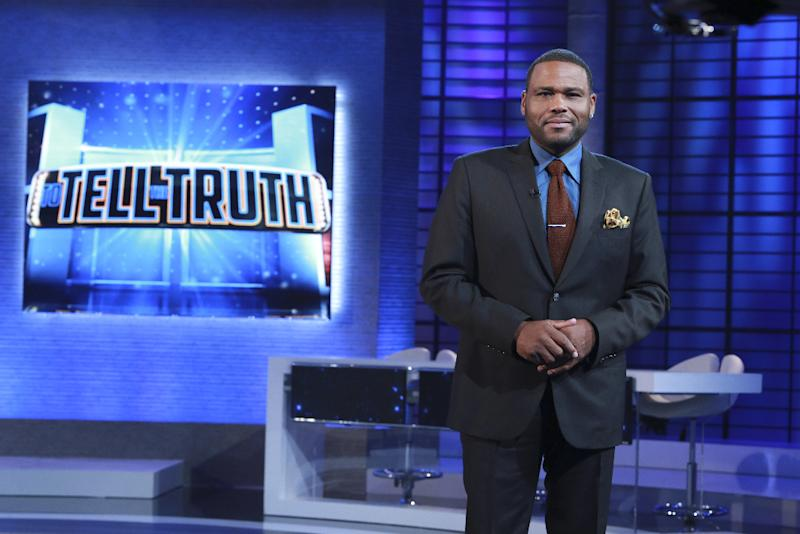"""Anthony Anderson has a very funny costar -- his mom, Doris! Find out how the comedian's mom wound up starring on his ABC game show, """"To Tell the Truth"""""""