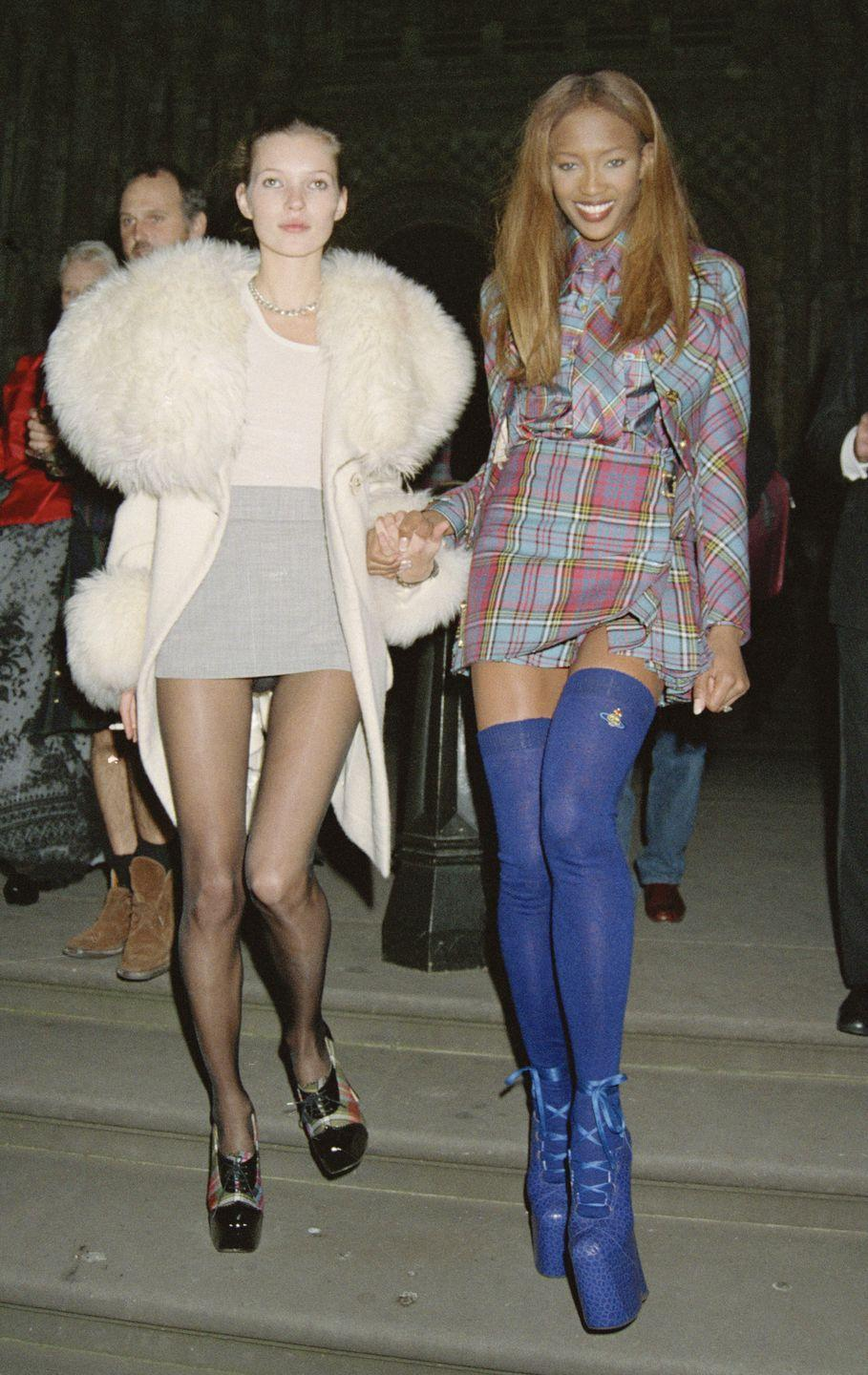 <p>The supermodel era of the '90s featured Naomi Campbell as a main character among the group. Her English charm and confidence is what made her an unforgettable staple of the decade and a continuing star today.</p>