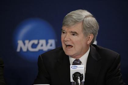 The judge's ruling was a setback for the NCAA and its president, Mark Emmert. (AP)