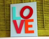 "<div class=""caption-credit""> Photo by: Crap I've Made</div><b>LOVE display</b> <br> There are lots of ways to do this project. It's easy to paint wood letters and attach them to a canvas, and you can use any letters or shapes you want! <br> <i><a href=""http://www.crapivemade.com/2011/01/valentines-day-canvas-art.html"" rel=""nofollow noopener"" target=""_blank"" data-ylk=""slk:Get the tutorial"" class=""link rapid-noclick-resp"">Get the tutorial</a></i> <br> <b>More on Babble</b> <br> <a href=""http://www.babble.com/toddler-times/2012/08/17/20-awesome-home-decor-ideas-using-chalkboard-paint/?cmp=ELP
