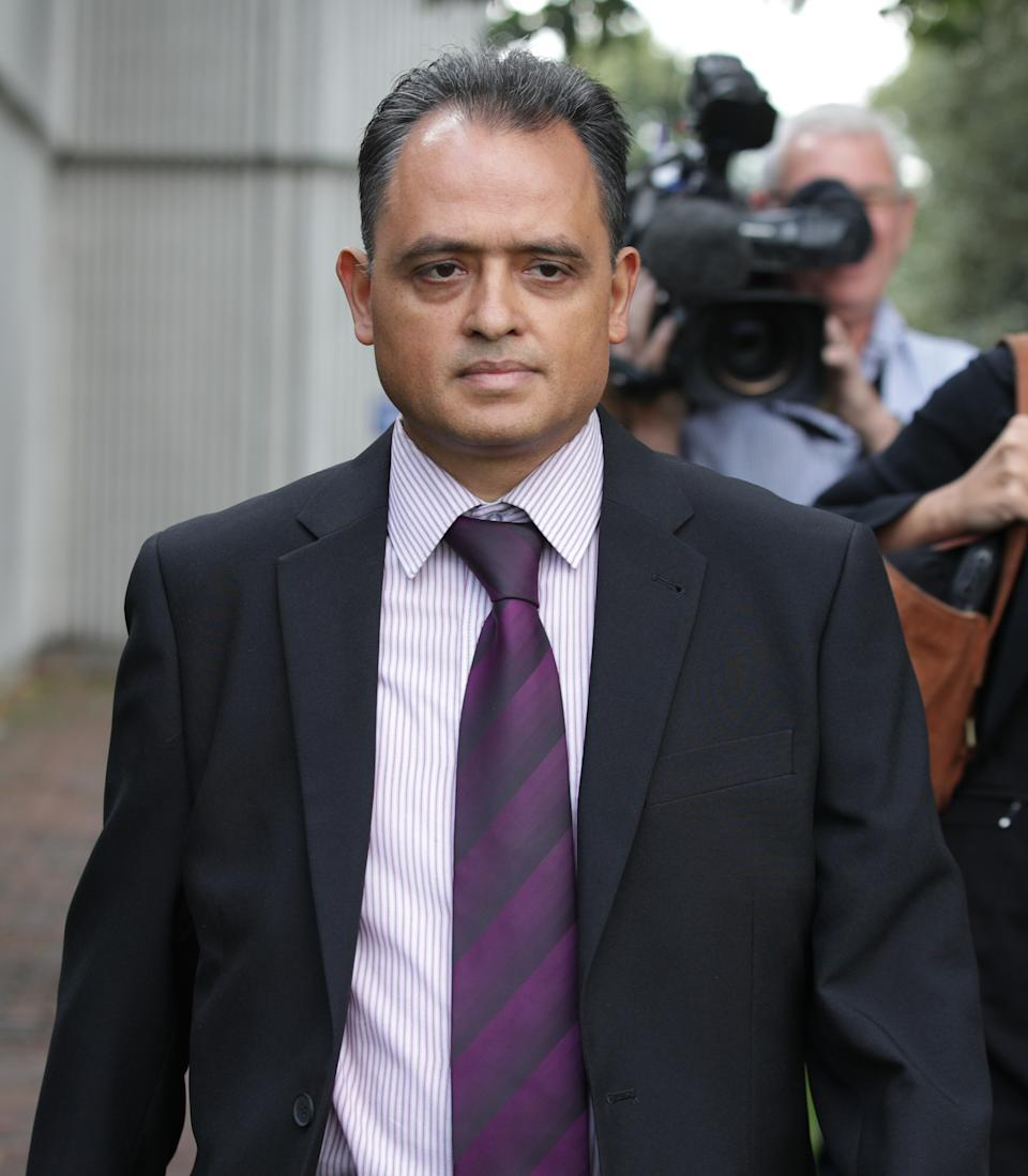 File photo dated 31/08/17 of Manish Shah who has been found guilty at the Old Bailey of 25 sexual offences against six victims.