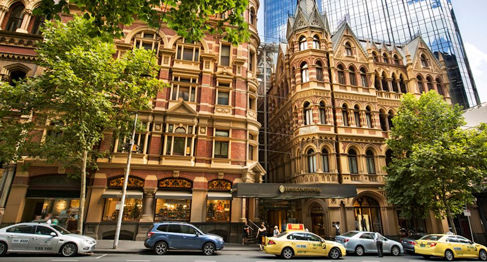 Intercontinental on Collins Street in Melbourne