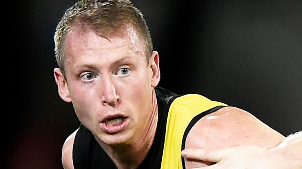 Richmond's Dylan Grimes has revealed the Tigers were inadvertently caught in a breach of COVID-19 regulations that was ultimately managed by the AFL. (Photo by Matt Roberts/AFL Photos/via Getty Images)