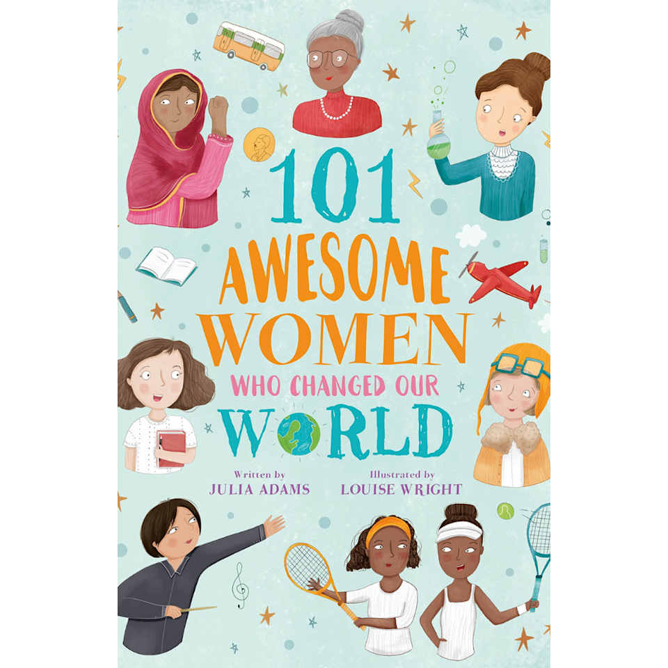 the cover of feminist book 101 awesome women who changed the world