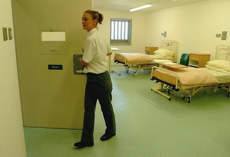 The hospital ward at HMP Bronzefield women's prison (Photo: Tim Ockenden - PA Images via Getty Images)