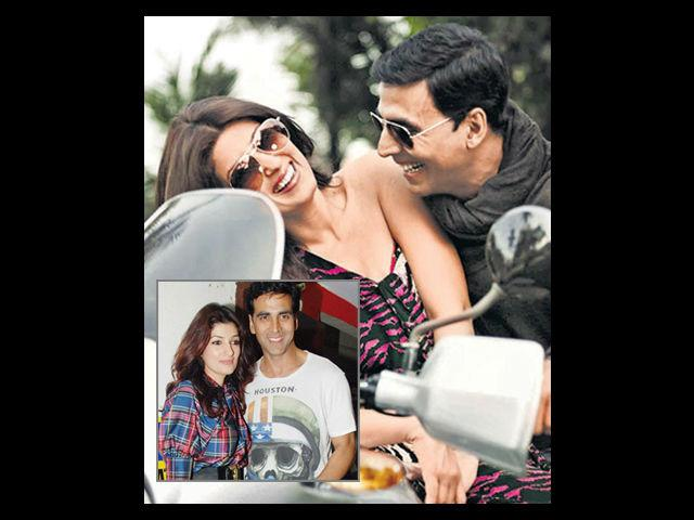 "<b>Akshay Kumar</b><br> After the clichéd Khiladi roles he was offered for most part of his career, Akshay Kumar turned to better roles to revive his career after his wedding. Akshay admits that Twinkle Khanna is his lucky charm. He says, ""I wasn't having that great a time in Bollywood before the 'Lakshmi' of my life entered my house. Before meeting her, I had 14 flops but things started looking up after the Lady Luck smiled at me."""