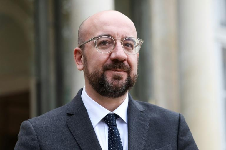 It is the first meeting chaired by new EU Council president Charles Michel (AFP Photo/ludovic MARIN)