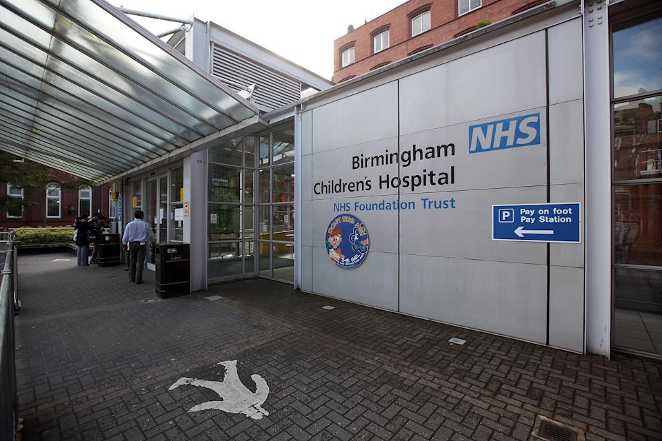 BIRMINGHAM, UNITED KINGDOM - JULY 14:  A general view of Birmingham Children's Hospital on July 14, 2009 in Birmingham, England.  (Photo by Christopher Furlong/Getty Images)