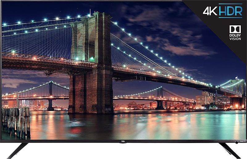 TCL 6-Series 4K Ultra HD Smart LED Television (2019), 55""