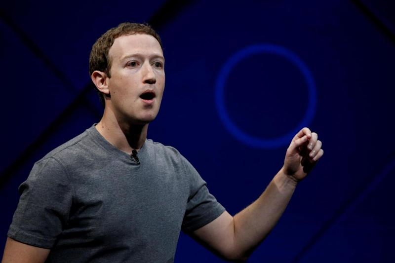 Apology: Mark Zuckerberg said he would be 'happy' to testify before US Congress (REUTERS)