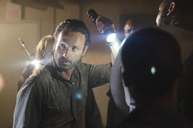"Rick Grimes (Andrew Lincoln) in ""The Walking Dead"" episode, ""Sick."""