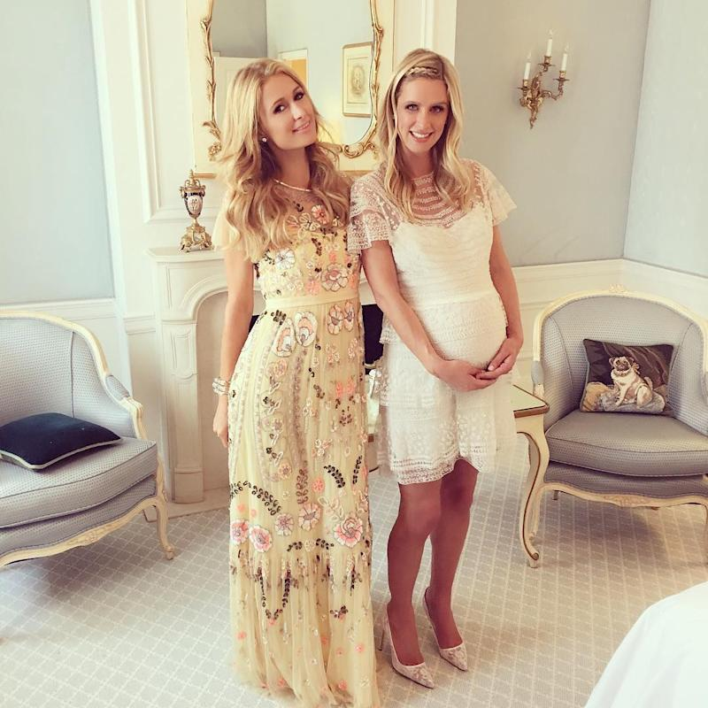 Paris Hilton Throws Pregnant Sister Nicky A Picture Perfect Baby