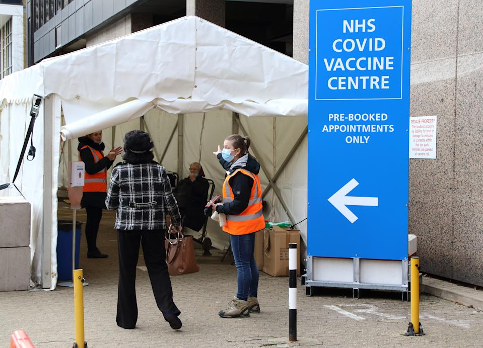 Illegal migrants will be able to register for the coronavirus vaccine without fear of repercussions. (PA)