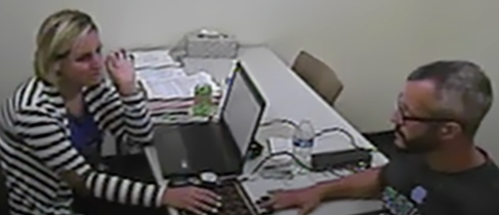 Chris Watts failed a polygraph test, which led to his eventual confession (Photo: Netflix/YouTube)