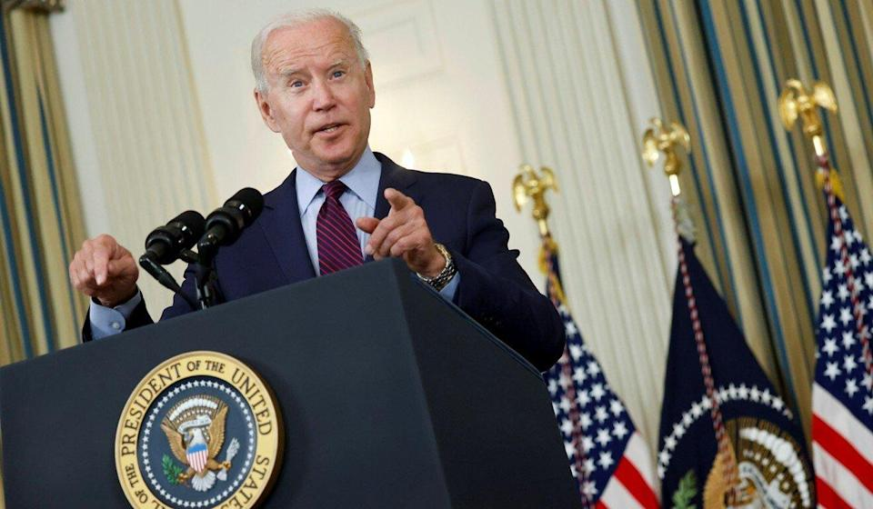 US President Joe Biden has been slow to remove tariffs on Chinese imports imposed by his predecessor, Donald Trump. Photo: Reuters