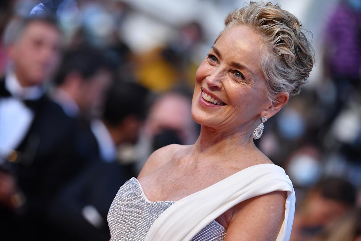 CANNES, FRANCE - JULY 17: Sharon Stone attends the final screening of