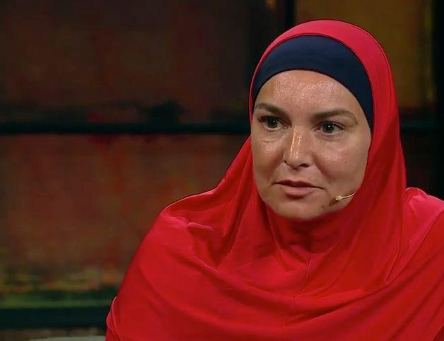 Sinead O'Connor converted to Islam last year and changed her name to Shuhada' Davitt (Photo: RTE)