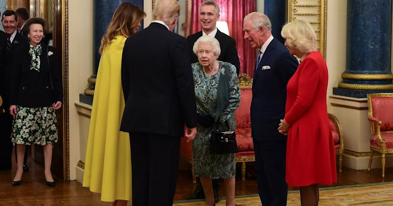 What Really Happened Between Queen Elizabeth and Princess Anne in Front of the Trumps?