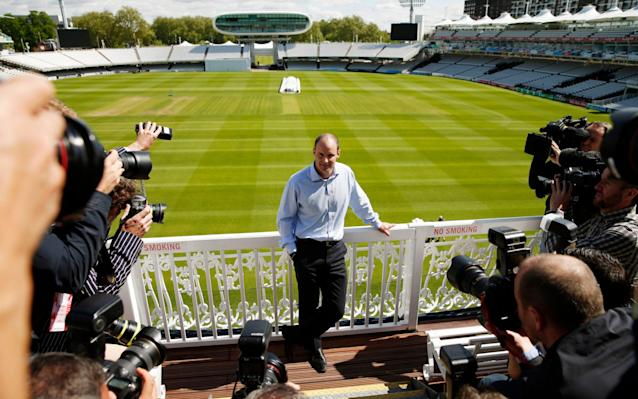 <span>Master of his domain: Andrew Strauss at Lord's</span> <span>Credit: Action </span>