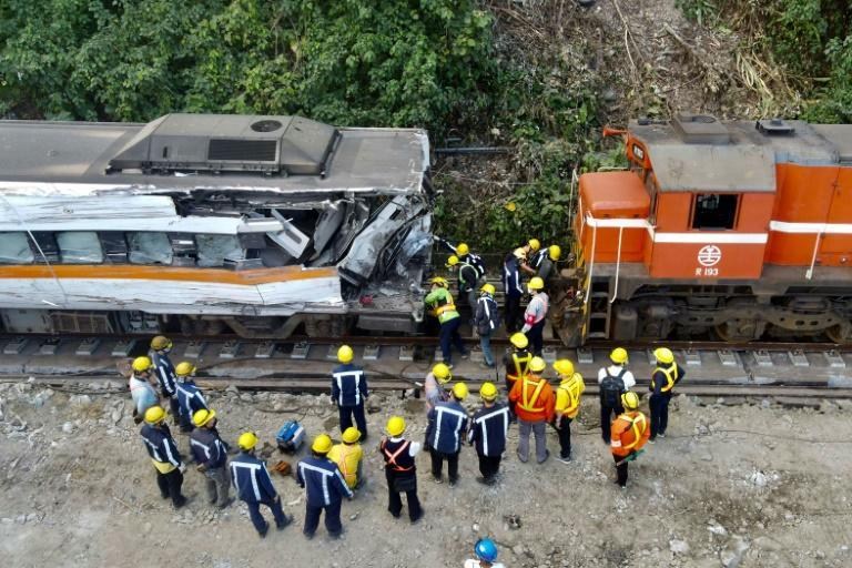 Recovery crews managed to extract some of the more damaged cars from the tunnel