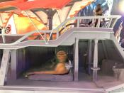 """<p>Owning a highly detailed 4-foot, 14-pound re-creation of Jabba's barge from <em>Return of the Jedi </em>is every <em>Star Wars </em>fan's dream. And now they can bring that dream to life by heading over to Hasbro's latest initiative, <a rel=""""nofollow noopener"""" href=""""https://www.hasbrolab.com/"""" target=""""_blank"""" data-ylk=""""slk:HasLab"""" class=""""link rapid-noclick-resp"""">HasLab</a>, a Kickstarter-like service that allows toy lovers to back these projects with their own funds. If this idea takes flight, HasLab could, um, <em>kick-start</em> a whole line of fan-demanded galactic merch. (Photo: Hasbro) </p>"""