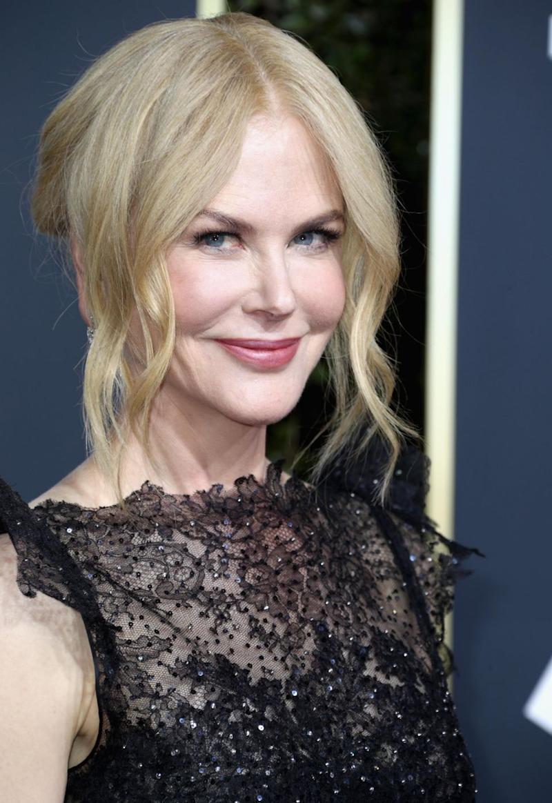 Nicole Kidman has won a Golden Globe at the 75th annual awards event. Photo: Getty