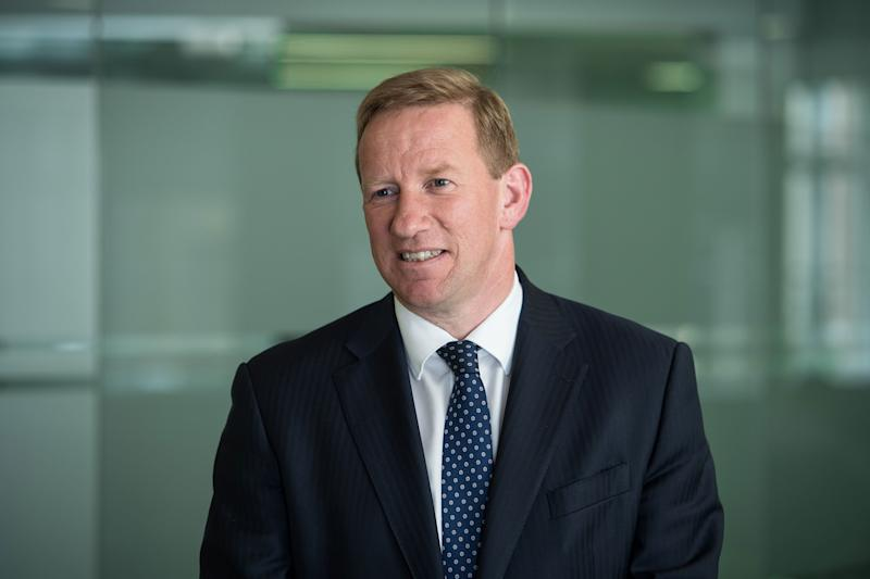 Barratt Development chief executive David Thomas. Photo: Barratt Developments