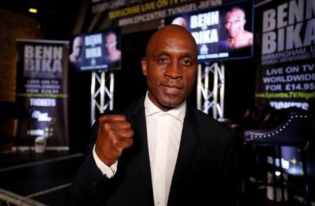 Nigel Benn Press Conference