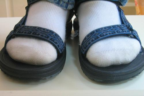 "<div class=""caption-credit""> Photo by: Flickr/Shaymus22</div><div class=""caption-title"">2. Socks & Sandals</div>I have no words. Just stop it. I mean, seriously?"