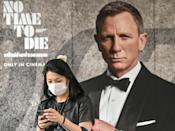 The film's release was delayed by the coronavirus pandemic and three previous scheduled premieres were postoned (AFP/Mladen ANTONOV)