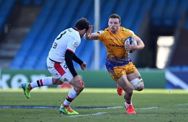 Sam Simmonds has been in explosive form for Exeter