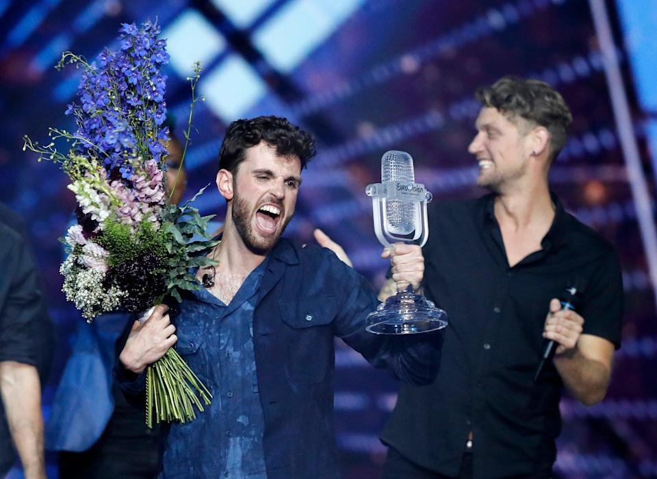 Netherlands Eurovision (Copyright 2019 The Associated Press. All rights reserved.)