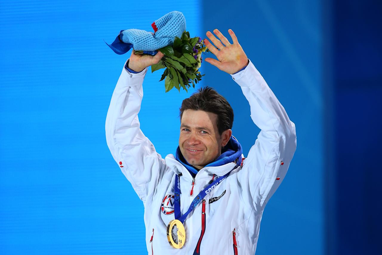 "<p>No one has more Winter Olympic medals than the Ole Einar ""The King of Biathlon"" Bjorndalen. The Norwegian competed in six Olympics from 1994 to 2014, racking up 13 medals. He also swept the men's gold medals at the 2002 Salt Lake City Olympics. </p>"