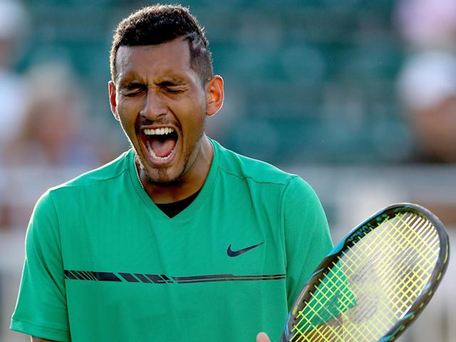 Kyrgios has been in fine form on the hard courts: Getty