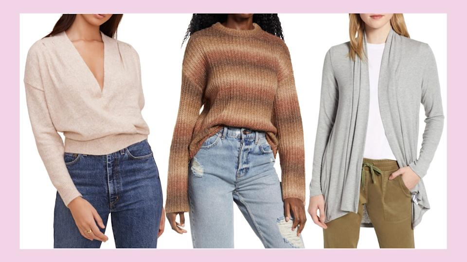Nordstrom's Sweater Sale is on for a limited time.