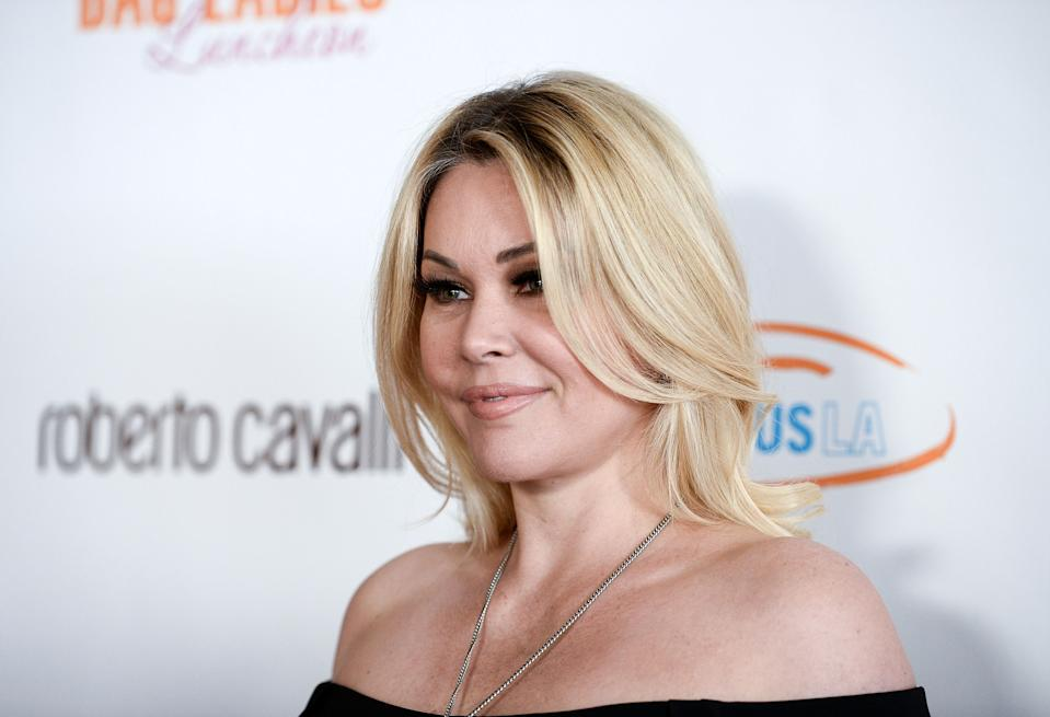 Shanna Moakler is clarifying her intentions behind removing a tattoo bearing the name of her ex-husband Travis Barker. (Photo: Amanda Edwards/WireImage)