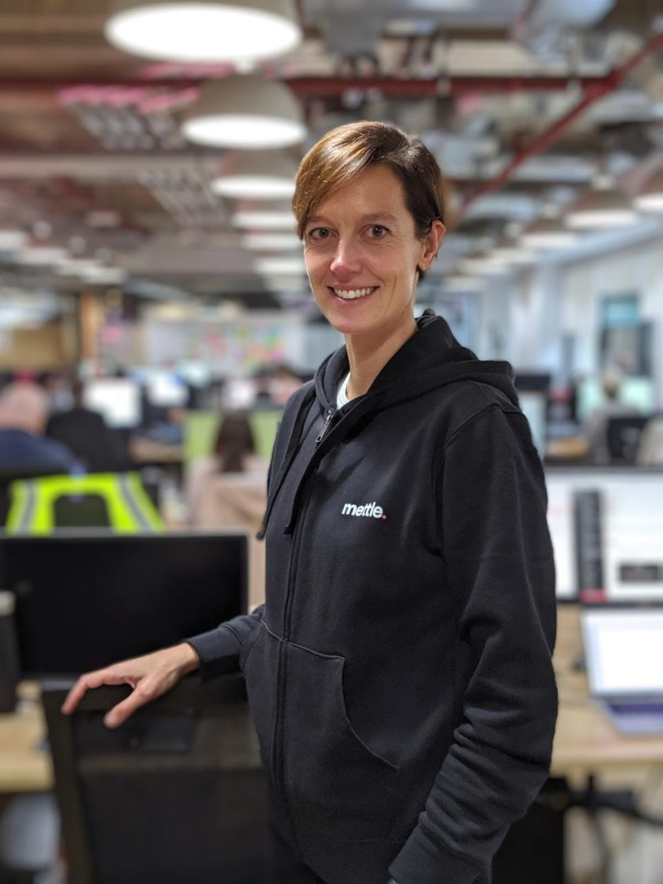 Marieke Flament is chief executive of Mettle (Mettle/PA)