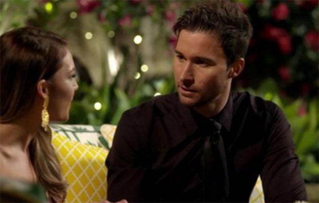 Michael vyed for Sam's heart in <i>The Bachelorette</i>. Source: Network Ten