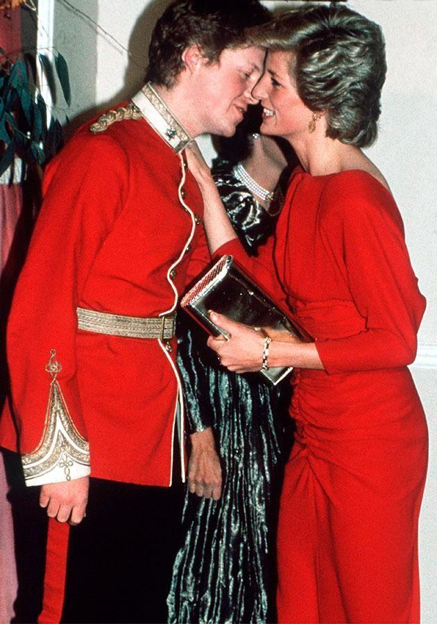 Diana was his beloved older sister. Photo: Getty